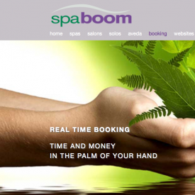 SpaBoom Launches Real Time Online Booking