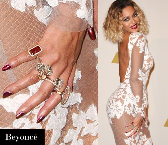 Celebrity Nails Celebrity Style Nail Art 2014 Grammys Nails