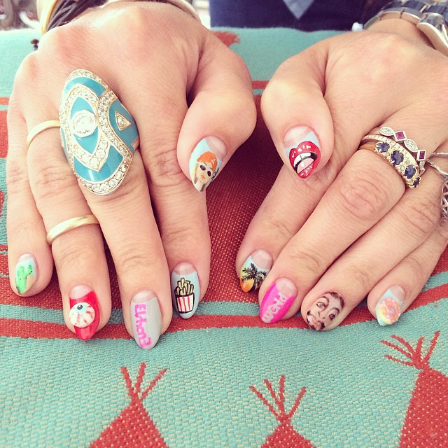 Nails By EsNail Los Angeles For @ Elshanesworld