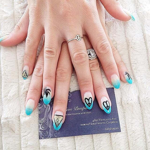 Nail Art, Nail Designs, Summer Beauty, Music Festival