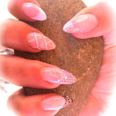nail art tutorial edgy galaxy nails