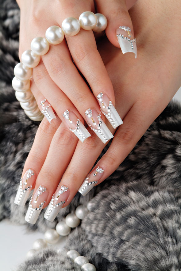 Bridal Nails from INSPIRE