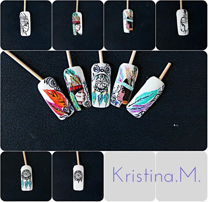 Nail Art Tips: Native American Design