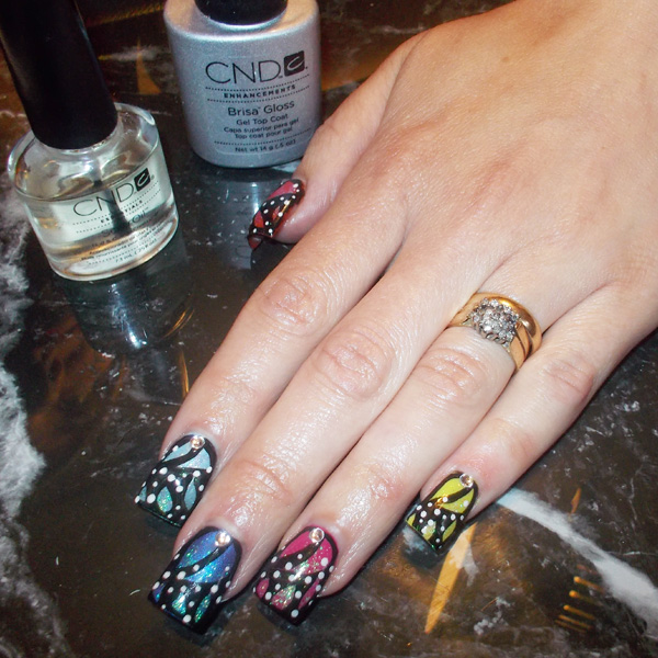 Nail Art Tutorial: Monarch Butterfly Nails