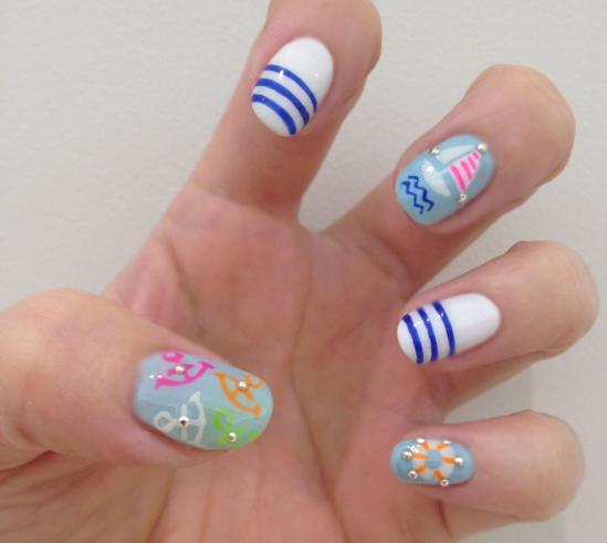 Nail Art Tutorial: Let