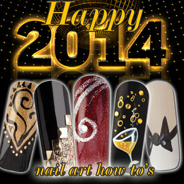 Nail Art How To: Happy New Year!