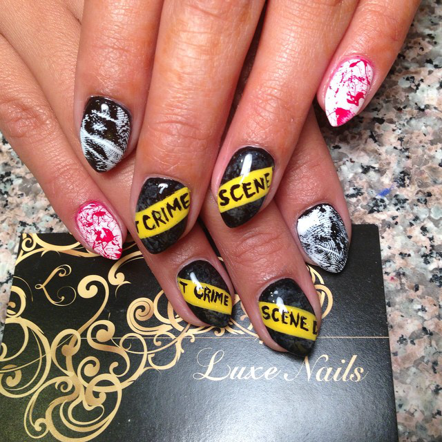 31 Days Of Halloween Nail Art For 2014