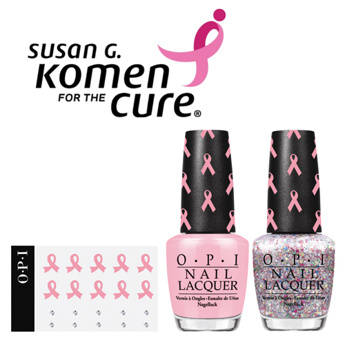 OPI Breast Cancer Awareness Pink of Hearts Set