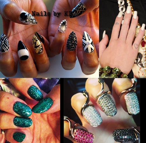 Celebrity Style: The Best VMA 2013 Nails
