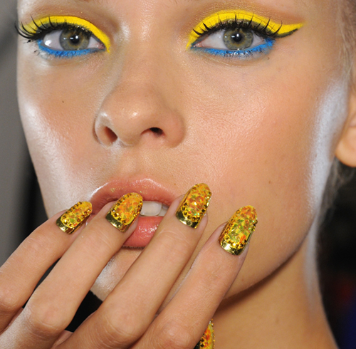 Photo Gallery: CND Nails on the Runway at The Blonds