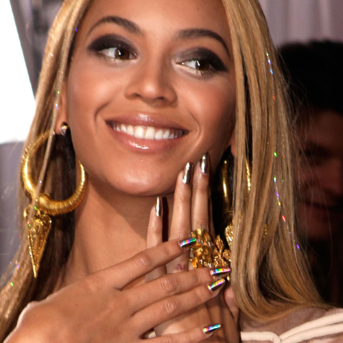Nail Art Celebrity Nails Nail Trends Nail Polish Beyonce