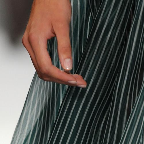 NYFW Nails S/S 2014: Milky Nude Nails at Carolina Herrera