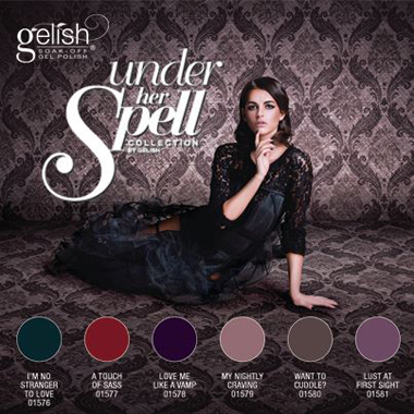 Under Her Spell, the New Fall 2013 Collection From Gelish