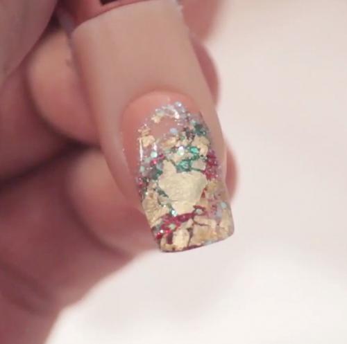 Nail Art Tutorial: Rock Candy Nails
