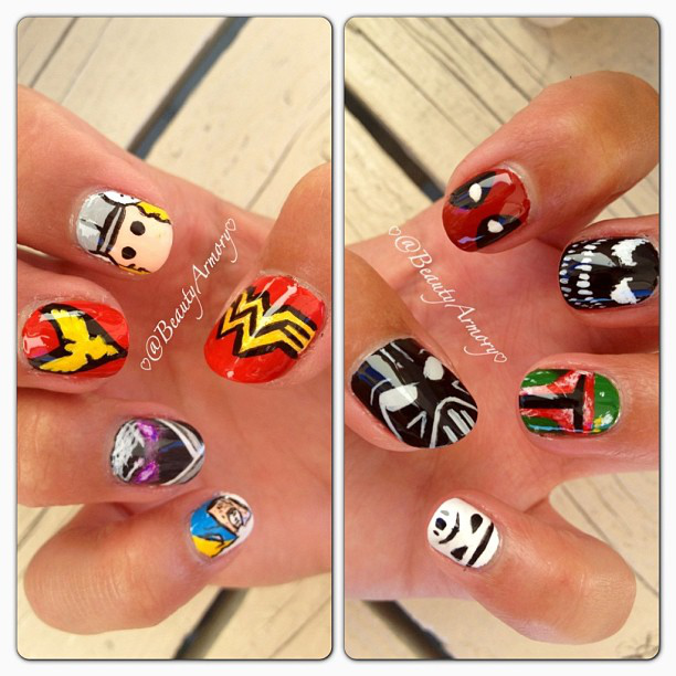 Nail Trends: Pop Art Nails, From Andy Warhol to Comic Books