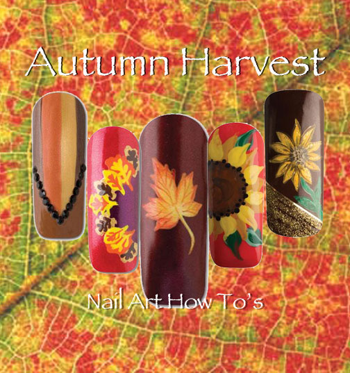 Nail Art How To: Autumn Harvest
