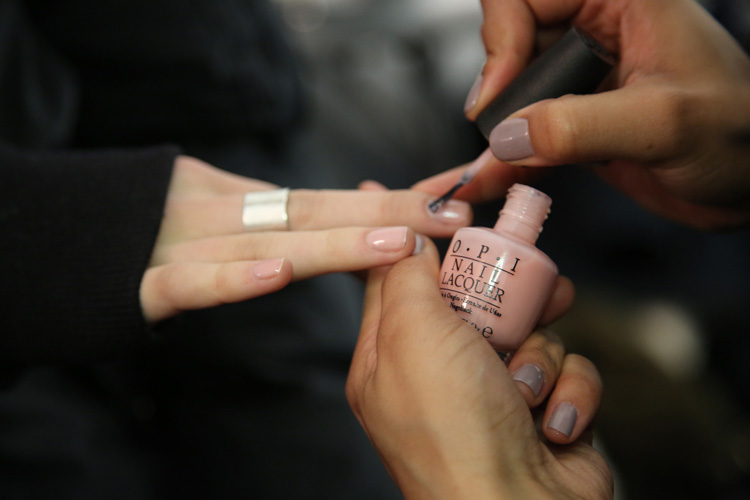 Fashion Week: OPI Nude BCBGMAXAZRIA Nails