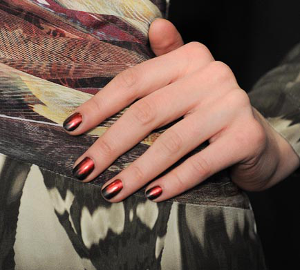 Fashion Week: Fiery Red Flames With Butter London