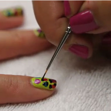 Funky Leopard Manicure How-To