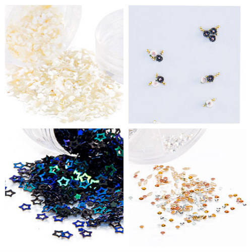 Where to Buy Nail Studs, Rhinestones, and Charms