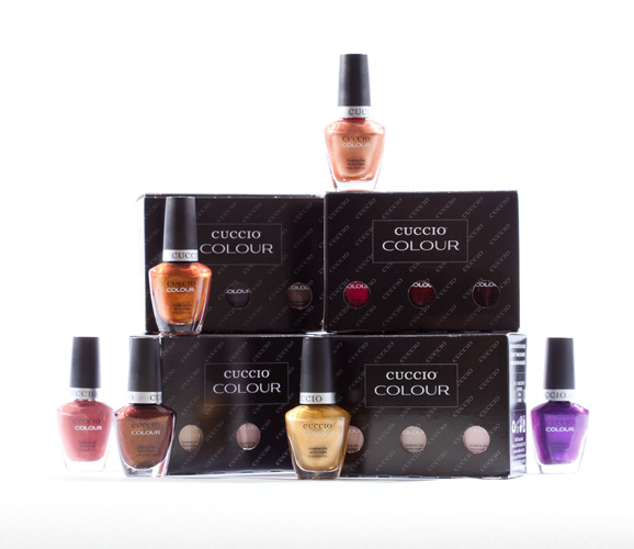 Giveaway: 5 Sets of Cuccio Color Polishes