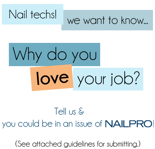 Tell Us What You Love About Being A Nail Tech!