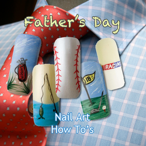 Nail Art How To: Celebrate Dads!