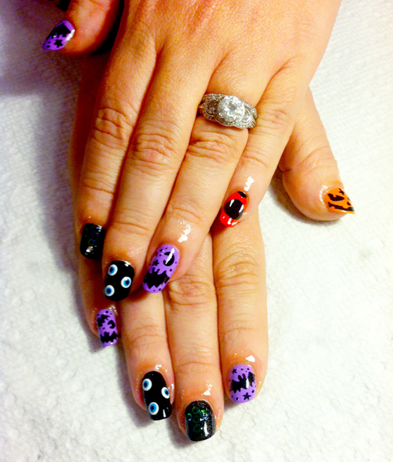Nail Trends: Halloween Nail Art with Fleury Rose