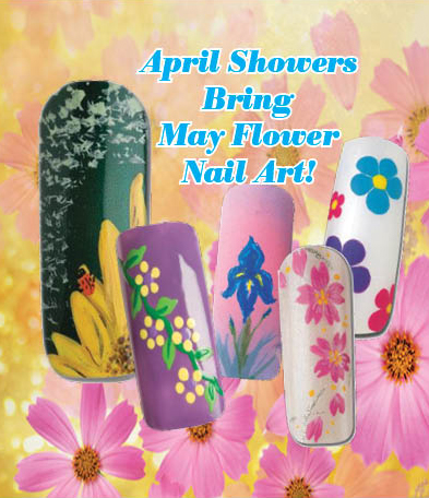 Nail Art How To: May Flowers