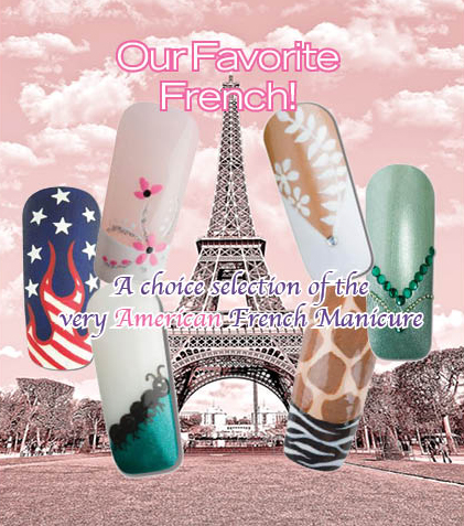 Nail Art How To: Our Favorite French!