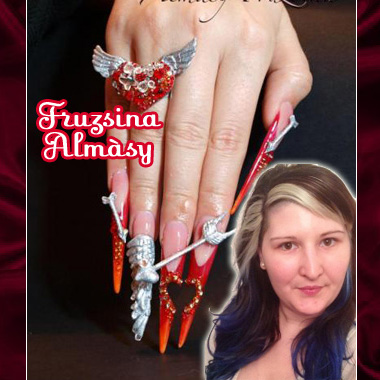 "Nail Artist Q&A: ""Nailed Down!"" with Fruzsina Almàsy!"