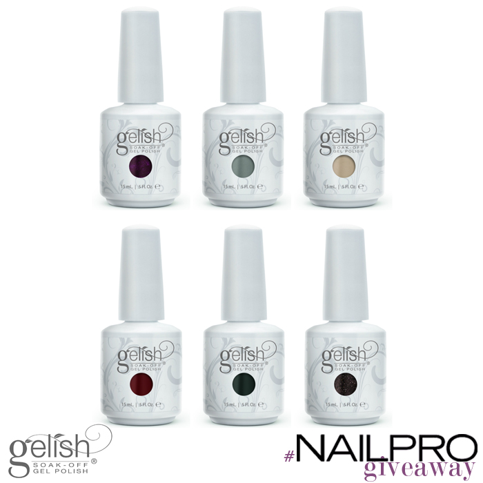 Giveaway: Win the Gelish Get Color-Fall Collection!