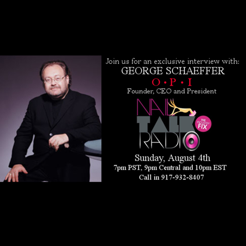 George Schaeffer on Nail Talk Radio August 4