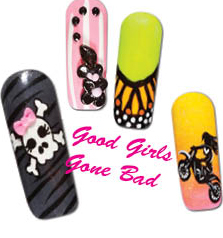 Nail Art How To: Good Girls Gone Bad!
