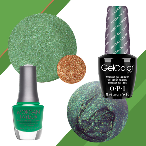 Nail Trends: Green Polishes and Pigments for Fall
