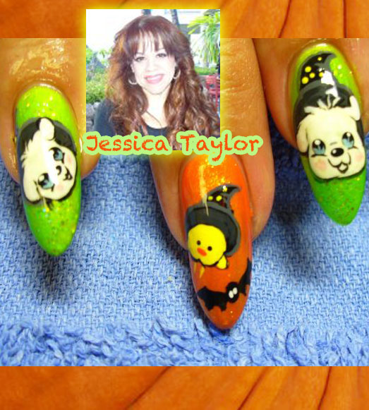 """Nail Artist Q&A: """"Nailed Down!"""" with Jessica Taylor!"""