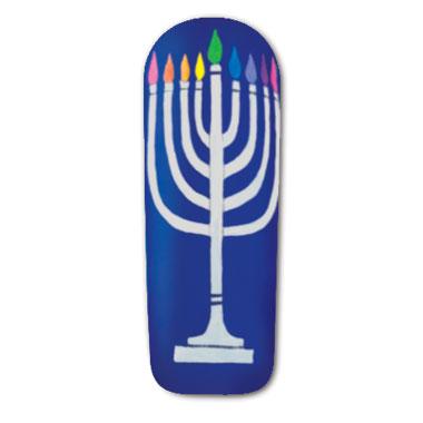 Nail Art How To:  Happy Hanukkah!