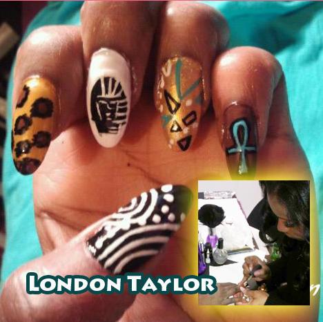 "Nail Artist Q&A: ""Nailed Down!"" with London Taylor!"