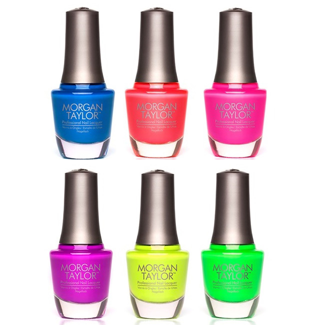 Nail Polish Nail Colors Summer Nails Morgan Taylor Neons