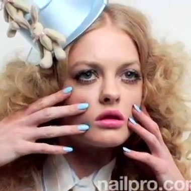 Nail Art How to: Spring Nail Polish Collections and NAILPRO