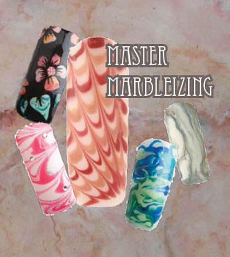 Nail Art How To: Master Marbleizing