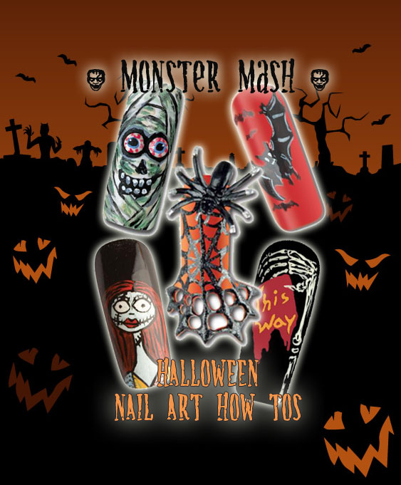 Nail Art How To: Monster Mash
