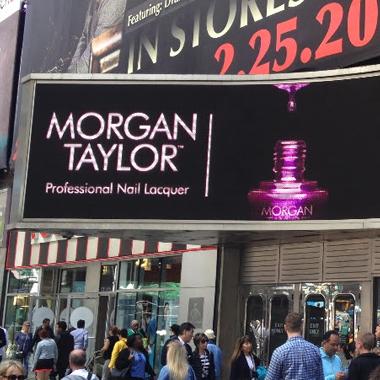 Morgan Taylor Lacquer Makes Its Broadway Debut