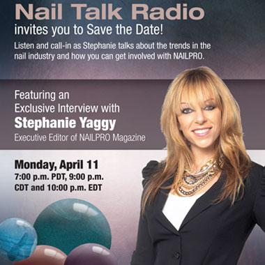 Stephanie Yaggy on Nail Talk Radio