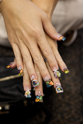 Nail Art From Sacramento
