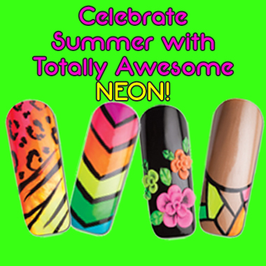 Nail Art How To: Totally Awesome Neon!