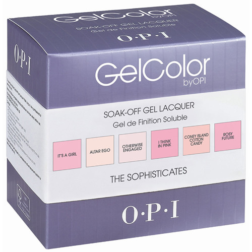 Giveaway: Win OPI GelColor The Sophisticates