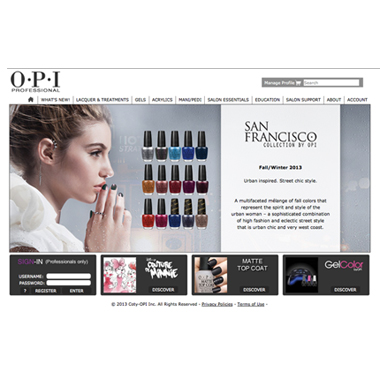 OPI Re-Launches PRO.OPI.com