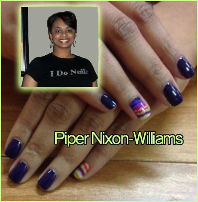 "Nail Artist Q&A: ""Nailed Down!"" with Piper Nixon-Williams!"