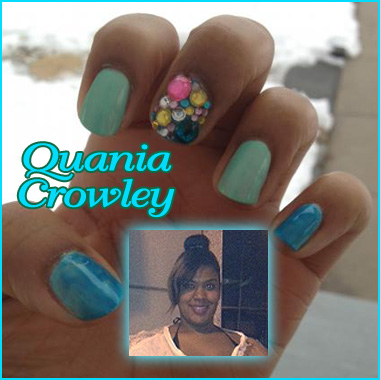 """Nail Artist Q&A: """"Nailed Down!"""" with Quania Crowley!"""